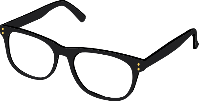 Animated eyeglasses